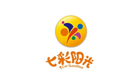 七彩阳光幼儿园园旗