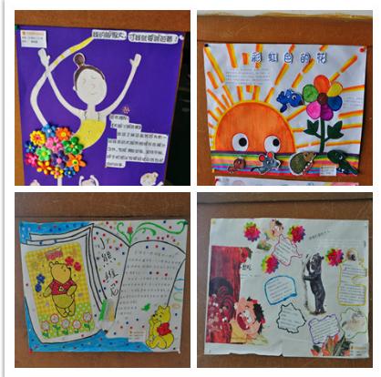 园内组织了第八届幼儿讲故事比赛,书香家庭评选活动.