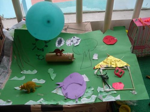 小孩子手工制作图片恐龙