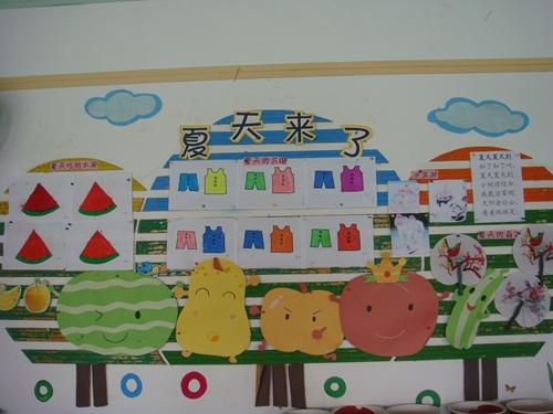幼儿园夏天画画衣服