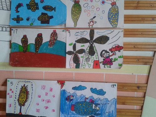 幼儿园玉米棒手工制作图片