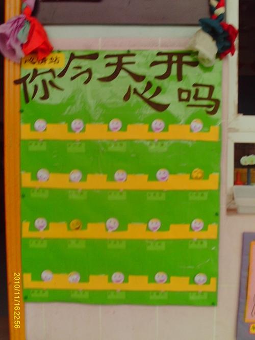 幼儿园谈话墙布置图片
