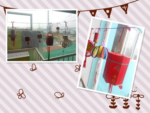 幼儿园手工制作红灯笼的步骤